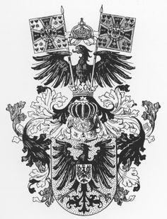 File:Wappen Deutsches Reich - Wappen des Kaisers mit Helmkleinod.png