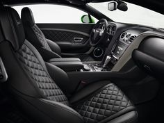 Bentley Continental GT Interior. @littledreambird