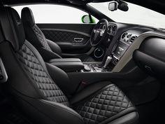 Bentley Continental GT Interior. @littledreambird
