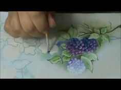Mulher.com 06/02/2015 Luis Moreira - Dicas pintura em tecido flores Parte 1/2 - YouTube