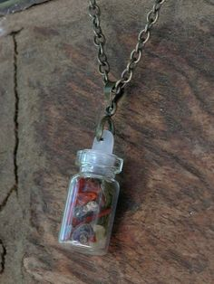 White Magick Alchemy - Natures Divinity . Spell Bottle Charm Necklace . Connect with Earths Elements, Animals and Nature bringing Prosperity and Abundance, $24.00 (http://www.whitemagickalchemy.com/natures-divinity-spell-bottle-charm-necklace-connect-with-earths-elements-animals-and-nature-bringing-prosperity-and-abundance/)