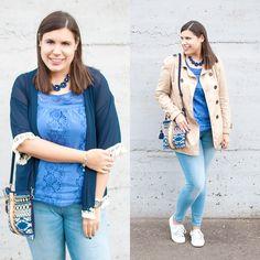 Azul infinito de sueños ❤ - Temporada: Primavera-Verano - Tags: mimalditadulzura, blog, fashionblogger, look, outfit, ootd - Descripción: El azul vuelve a ser el gran protagonista de mi blog y en base a este precioso bolso de dayaday, creé este bonito look. #FashionOlé