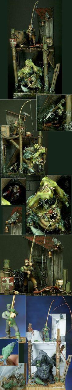 SPAIN 2011 Madrid - Battle scene - Demon Winner, the unofficial Golden Demon website