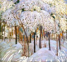 myfairynuffstuff: Tom Thomson - Snow in October.... / Oh, I say!