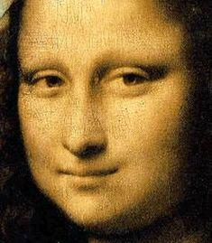"""Mona Lisa"". Detalhe da Face.      (by Leonardo da Vinci)."