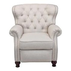 @Overstock - Traditional detailing makes this recliner ideal in a study, living room or family room. The solid wood legs perfectly coordinate with almost any color scheme, and the individual nailhead trim provides a nice finishing touch.http://www.overstock.com/Home-Garden/Cambridge-Linen-Recliner-Club-Chair/6467204/product.html?CID=214117 $679.99