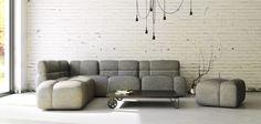 Package modular sofa by Boris Klimek Modular Couch, Modular Furniture, Cover Design, My Design, House Design, Furniture Packages, Sofas, Lounge, Packaging