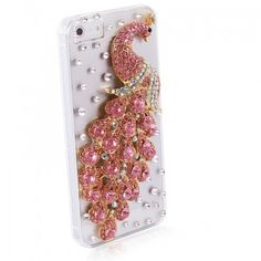 $9.99  Rhinestone Peacock Malachite Fashion Luxury diamond Cover/case For iPhone 5