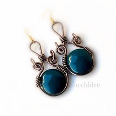 WIREWORKS | TUTORIALS - earrings