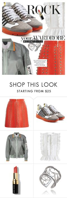"""""""Sporty Summer Style featuring Blingsense.com"""" by cultofsharon ❤ liked on Polyvore featuring Elie Saab, Dsquared2, Alexander Wang, Zimmermann and Bobbi Brown Cosmetics"""