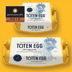 The world's leading packaging design competition. This globally accredited award is the definitive symbol of creative excellence in packaging. Egg Packaging, Packaging Design, Branding Design, Homemade Egg Drop Soup, Apple Oatmeal Muffins, Salmon Breakfast, Vegetable Pictures, Cheesy Eggs, Egg Curry