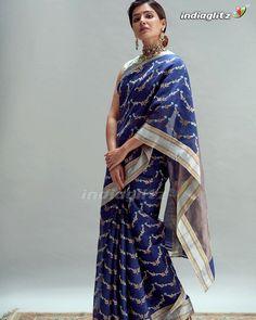 Samantha In Saree, Samantha Ruth, Raw Mango Sarees, Samantha Images, Chanderi Silk Saree, Cotton Saree, Cotton Silk, Saree Poses, Designer Silk Sarees