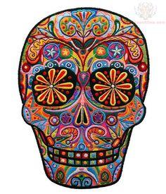 color-ink-sugar-skull-tattoo-design.jpg 549×640 pixels