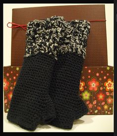 Funky Fingerless Gloves Handcrafted 100 Cotton by ArtisticFunk, $24.00
