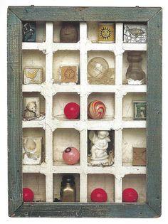 Joseph Cornell, Untitled (Dovecote), c. 1953 by drollgirl, via Flickr