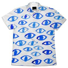 some eyes on your shirt created by NathalieChikhi | Print All Over Me