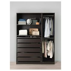 Discover the IKEA PAX wardrobe series. Design your own PAX wardrobe inside and out, from door styles, to shelves, to interior organizers and more. Pax Corner Wardrobe, Ikea Wardrobe, Ikea Closet, Wardrobe Storage, Wardrobe Closet, Pax Closet, Pax Planer, Dorm Room Storage, Storage Organization