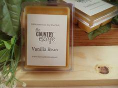 Vanilla Bean Scented 100% Soy Wax Melt - Maximum Scented on Etsy, $2.95