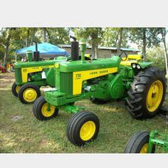 John deere 730 Old John Deere Tractors, Jd Tractors, John Deere Equipment, Old Farm Equipment, Heavy Equipment, Antique Tractors, Vintage Tractors, Farming Technology, New Tractor