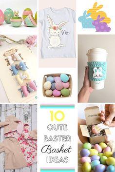 10 Cute Easter Basket  Ideas!