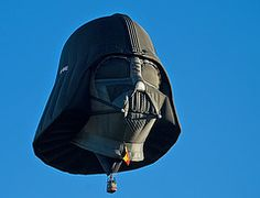 Use The Force - Vader Hot Air Balloon