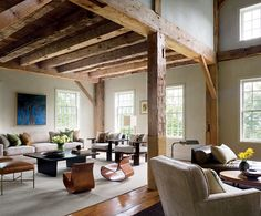 great mix of rustic and modern
