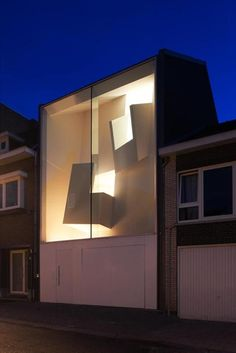 House Beo | Narrow House in Bilzen, Belgium by architect Bassam El-Okeily. www.bassamelokeily.com