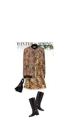 """""""Leopard Wrapped In Lions"""" by hollowpoint-smile ❤ liked on Polyvore featuring Pier 1 Imports, Yves Saint Laurent and Balenciaga"""