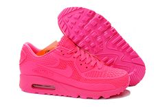 Hot pink sneakers?! Yes please!! MAX90 Rose red Women Shoes