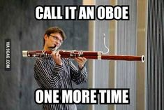 Lol...poor bassoon players