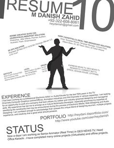 50 Creative Resume Designs