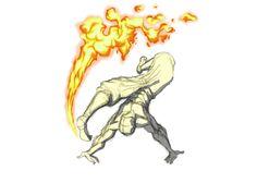 Firebending Kick by moptop4000.deviantart.com on @deviantART