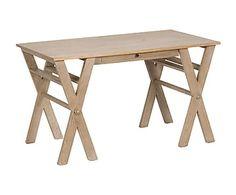Mesa escritorio de madera de roble macizo Arty