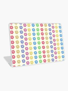 'Colorful 35 Mini Scrunchies Pack ' Laptop Skin by AElenaS Iphone Wallet, Iphone Cases, Vibrant Colors, Colorful, Macbook Air 13, Transparent Stickers, Glossier Stickers, Laptop Skin, Sell Your Art