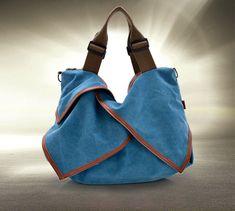 Marvelous Make a Hobo Bag Ideas. All Time Favorite Make a Hobo Bag Ideas. Big Handbags, Canvas Handbags, Fashion Handbags, Cross Body Handbags, Fashion Bags, Fashion Women, Tote Handbags, Women's Fashion, Designer Handbags