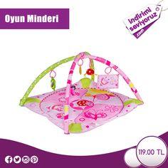 Dikkat çekici renkleri ve fiziksel gelişimi destekleyici oyuncaklarıyla Oyun Minderi, bebeğiniz ve sizin için mükemmel bir ürün! #indirimiseviyoruz #indirim #fırsat #anne #bebek