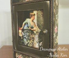 Made by Decoupage Atelier - Nadia Kior Decoupage, Home Decor, Atelier, Decoration Home, Room Decor, Home Interior Design, Home Decoration, Interior Design