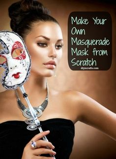 Whether you are looking for ideas for Halloween, need something for Marti Gras or you just like masks in general, this is a great tutorial for how to make your own masquerade mask. The kids will absolutely adore this one and think of the money that you can save on future Halloween costumes. The...