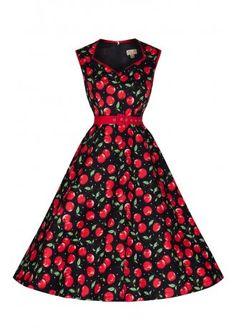Lindy Bop Cherry Xandra Dress