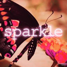 Sparkle. (Pink Perfection necklace sure does.  This week only, @swoonweekly)  #sparkle #shine #neon #neonweek #butterfly #pink #pinkperfection #swoonquotes #quotable #quotes #quoteoftheday #quote #quoteme #swoonweekly #swoon