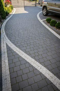Driveway Design, Patio Design, House Design, Outdoor Walkway, Home Id, Home Landscaping, Garden Planning, Garden Inspiration, Backyard