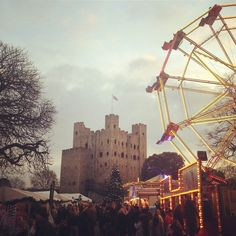 Rochester Castle Christmas Fair