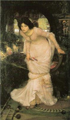 The Lady of Shalott - John William Waterhouse 1894