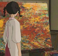 Anime Gifs, Film Anime, Anime Manga, Anime Art, Totoro, Up On Poppy Hill, Studio Ghibli Movies, Animation, Hayao Miyazaki