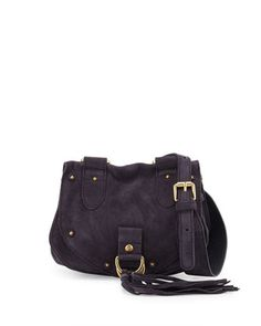 See by Chloe Collins Fringe Suede Saddle Bag 1a555ab97ca17