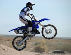 Catch some air on a dirt bike