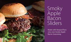 Smoky Apple Bacon Sliders