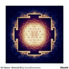 Sri Yantra - Artwork IX Perfektes Poster