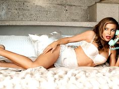 Carmen Electra Lingerie Teasy Hot in FHM