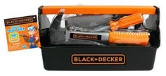 Black  Decker Jr Tool Box -- You can get additional details at the image link. Note:It is Affiliate Link to Amazon.